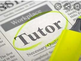 Competent home tutors required