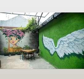 Lukis dinding / mural