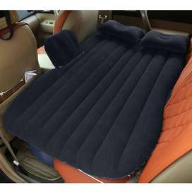 Car Air Bed way up Typically, you should not be able to look down at t