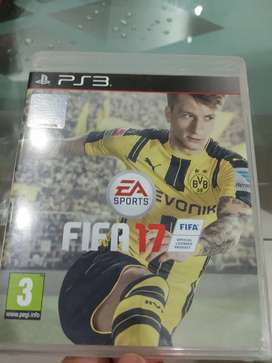 Play Station 3 Game CD-FIFA 17