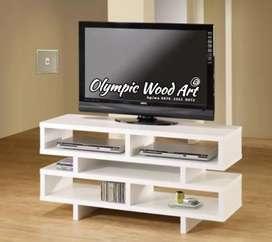 Di jual meja tv minimalis vintage putih Open order Furniture Jepara
