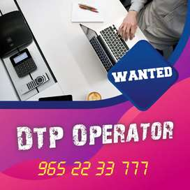 Wanted DTP operators.