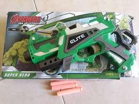 Pistol/ Tembakan mainan nerf second
