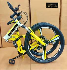 Brand New Foldable Cycles With Dual Suspension