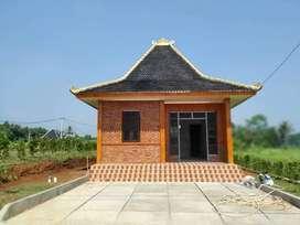 Rumah ready siap huni bisa di sewakan dalam kawasan wisata di Bogor