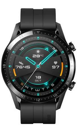 HuaweiGT2Sport BluetoothWatchMatte Black (2 Weeks Battery Life
