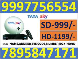 TATA SKY $ DISH TV $ AIRTEL TV 6 MONTH FREE CASH ON DELIVERY