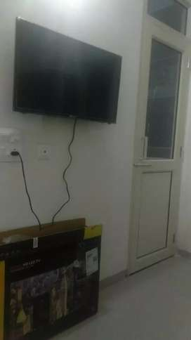 Owner free fully furnished 1Bhk on VIP road Zirakpur.