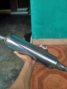 knalpot silencer revo sambung untuk semua motor