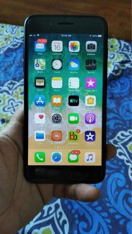 Brand New iphone 7 plus Black 128 gb with two
