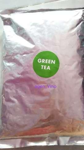Bubuk green tea ukuran 1 kg