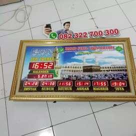 Daftar Harga Jam Digital Masjid - Timer Jadwal Sholat Digital Masjid