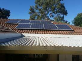 5kw Hybrid System with 4 Batteries + Net Metering