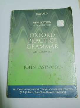 OXFORD PRACTICE GRAMMAR by john Eastwood book