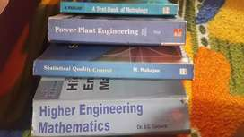 Used Btech Mechanical engineering books