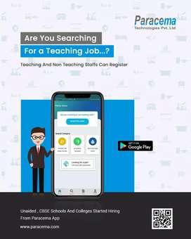 Register in paracema app