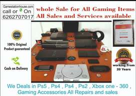 PS3 fat 500 GB WITH 30 GAME ALL NEW ACCESSORIES 2 MONTH WARANTY