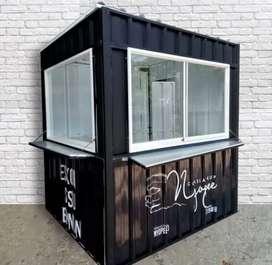 kreditan container booth untuk semua usaha,kirim ke semua kota