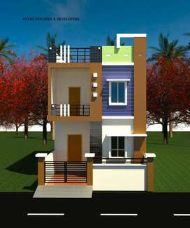 3BHK. Houses for sale At near Krishna talkies Road Risali Road