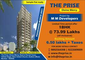 1Bhk in Andheri west at 73.99 lakhs all inclusive