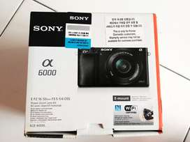 Sony A6000 Grey (rare)