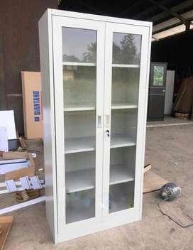 Lemari Besi / Lemari Arsip / Lemari Kantor / Filing Cabinet 2 Pintu