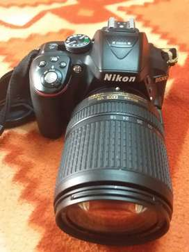 Urgently sale.  New condition camera NIKON D5300