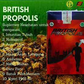 Jual herbal promil British Propolis asli free ongkir