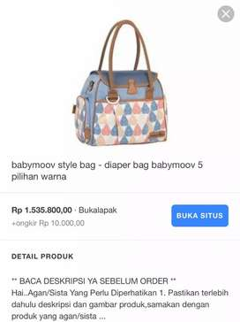 Diaper Bag Babymoov