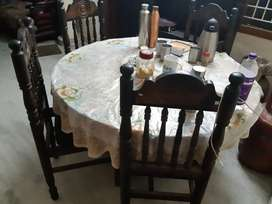 4 seater Rosewood dining table
