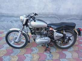 Royal Enfield eltra silver color first owner