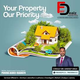 3rd floor available for sale at Ranjit Avenue