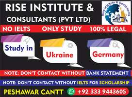Study in Ukraine & Germany without IELTS - Rise Inst & Consultants