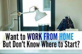 Work from home and office. No registration fees