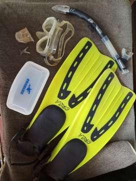 Fin ocra+masker lengkap merek problue
