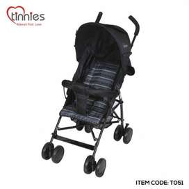 TINNIES BABY BUGGY-BLUE/Black