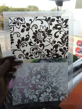Glass paper whole sale rate and wall paper