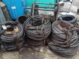 Kawat seling baja wire rope 19mm