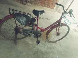 Ladies bycicle good condition