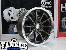 Velg Racing HSR Hiroshima Ring 17 Hole 8 Bisa Kredit