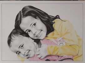 Portrait Sketch Rs. 350