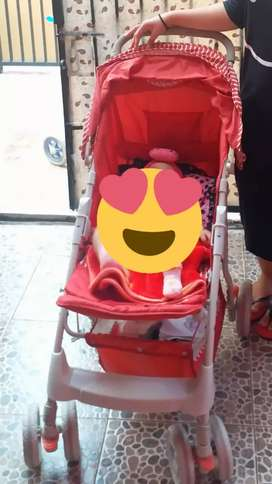 Stroller Trex Merah