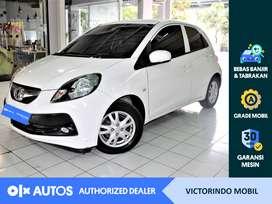 [OLXAutos] Honda Brio Satya 2015 1.2 E M/T Bensin Putih #Victorindo