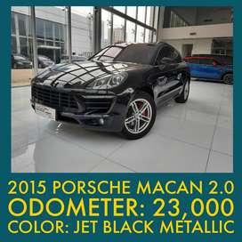 2015 Porsche Macan 2.0 PDK Low km jarang ada siap pakai