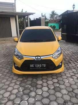 Dijual Agya S TRD 1,2 thn 2019 pemakaian 2020 matic