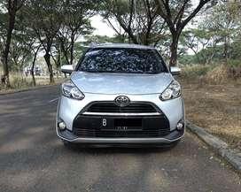 Toyota Sienta 1.5 V AT 2016 Warna Silver Metalik