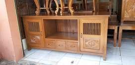 Bufet jati tv meja furniture