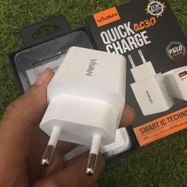 Adaptor Vivan 3 Ampere Quick Charge