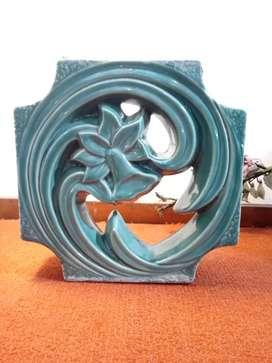 Lubang Angin Roster keramik motif bunga 20cm
