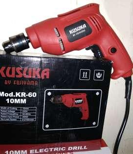 Mesin bor Listrik impact drill 10mm Kusuka fujiyama